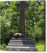 Gettysburg Irish Brigade Monument Acrylic Print