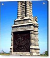 Gettysburg National Park 6th New York Cavalry Memorial Acrylic Print