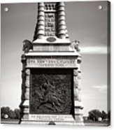 Gettysburg National Park 6th New York Cavalry Monument Acrylic Print