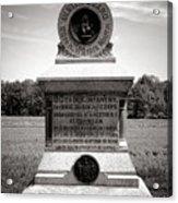 Gettysburg National Park 80th New York Infantry Militia Monument Acrylic Print