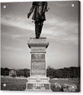Gettysburg National Park John Gibbon Monument Acrylic Print