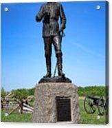Gettysburg National Park Major General John Buford Memorial Acrylic Print