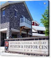Gettysburg National Park Museum And Visitor Center Acrylic Print