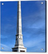 Gettysburg National Park United States Army Regulars Memorial Acrylic Print