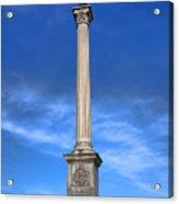 Gettysburg National Park Vermont Stannard Brigade Memorial Acrylic Print