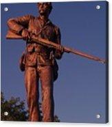 Gettysburg Statue Acrylic Print