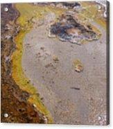 Geyser Basin Springs 4 Acrylic Print