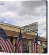 G.f. Spangenberg Gun Shop Tombstone Arizona 2004 Acrylic Print