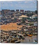Ghana Africa Acrylic Print