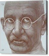 Ghandi Acrylic Print