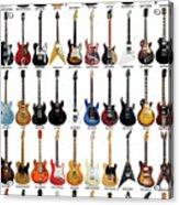 Guitar Legends Acrylic Print