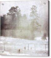 Ghost And Shadows II - Farm, Sea, And Sun Acrylic Print