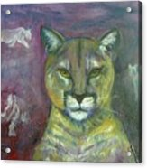 Ghost Cat Acrylic Print