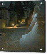 Ghost Dancer Acrylic Print by Scott Sawyer