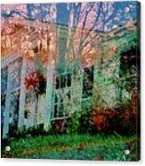 Ghost House Bold Acrylic Print