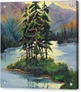 Ghost Island Near Jasper Acrylic Print