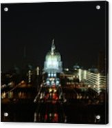 Ghost Lights Of Pa State Capital   # Acrylic Print