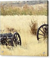 Ghost Of The Oregon Trail Acrylic Print by Everett Bowers