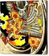 Ghost Of Warrior Tomomori 1880 Acrylic Print