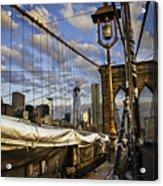 Ghost On The Bridge Acrylic Print