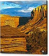 Ghost Ranch At Sunset, Abiquiu, New Acrylic Print