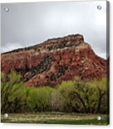 Ghost Ranch View Acrylic Print