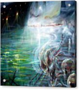 Ghost Ship 2 Acrylic Print