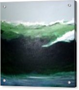 Ghost Surfer Acrylic Print
