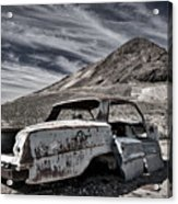 Ghost Town Junked Car Acrylic Print