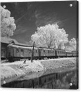 Ghost Town Train Acrylic Print