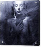 Ghost Woman Acrylic Print by Scott Sawyer