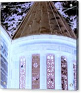 Ghostly Heights Manor Acrylic Print