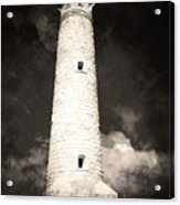 Ghostly Lighthouse Acrylic Print
