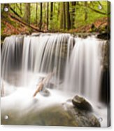 Ghostly Waterfall Acrylic Print