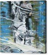 Ghostrider Reflection Acrylic Print