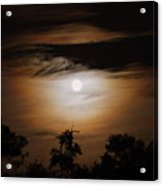 Ghosts Around The Moon Acrylic Print
