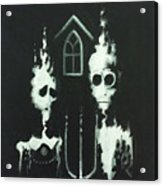 Ghosts Of American Gothic Acrylic Print