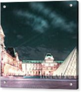 Ghosts Of The Louvre Museum 2  Art Acrylic Print