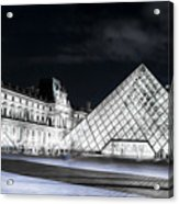 Ghosts Of The Louvre Museum  Art Acrylic Print