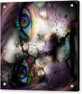 Ghoulish Acrylic Print by Brittany Perez