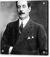 Giacomo Puccini, Italian Composer Acrylic Print