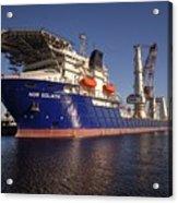 Giant Ship's Acrylic Print