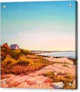 Giant Steps Maine Acrylic Print