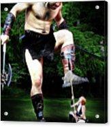 Giant Vs Amazon Acrylic Print