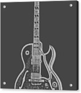 Gibson ES-175 Electric Guitar Tee Acrylic Print