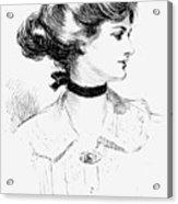 Gibson: Gibson Girl, 1905 Acrylic Print