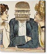 Gibson Girls, 1903 Acrylic Print