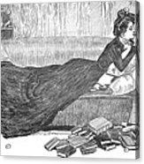 Gibson: Reader, 1900 Acrylic Print