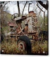 Gibson Tractor Acrylic Print