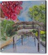 Giethoorn Bridges Acrylic Print